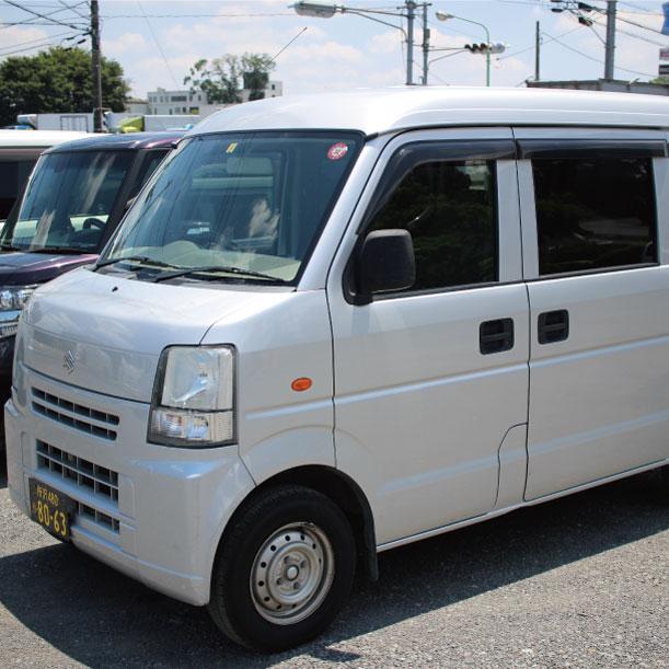 軽バン-ドライ